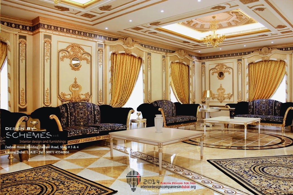 For more dubai home interior designs log on to http www for Luxury classic interior design