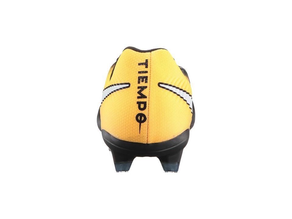 28c8376e046 Nike Tiempo Legacy III FG Men s Soccer Shoes Black White Laser Orange Volt