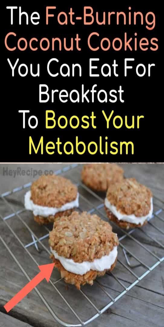 The Fat-burning Coconut Cookies You Can Eat For Breakfast To Boost Your Metabolism ! - Daily Magazine