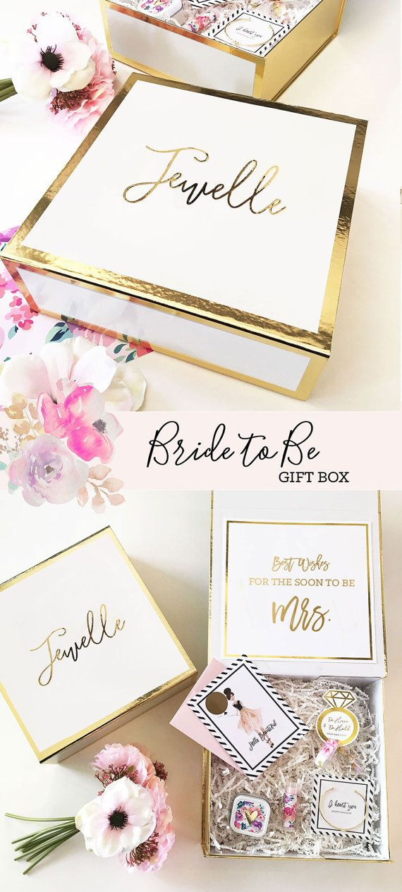 bride to be gift engagement gift basket bridal shower gift for bride gift from maid of honor to the bride affiliate link
