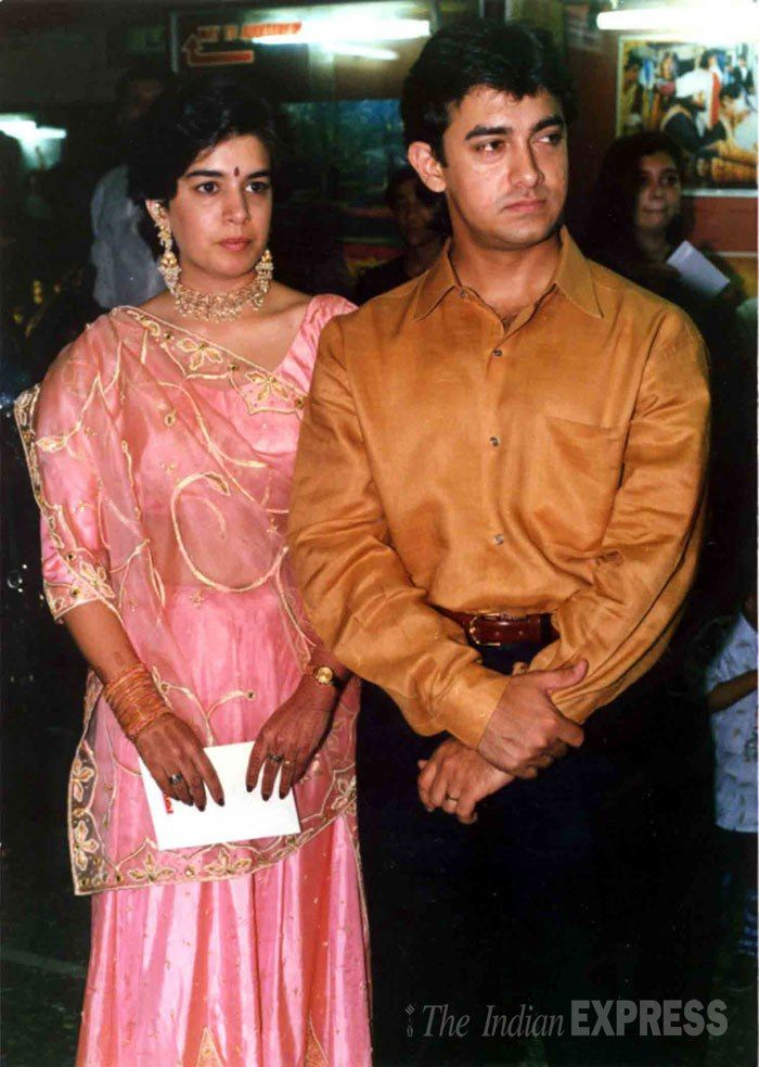 Aamir Khan And His First Wife Reena