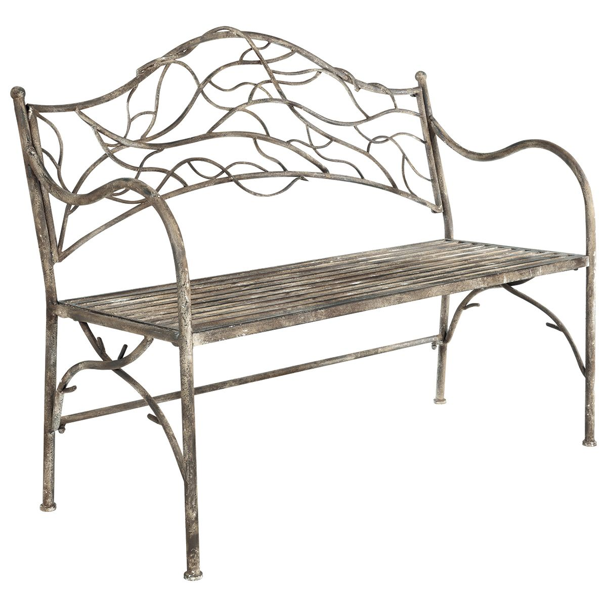 Viticcio Metal Garden Bench Metal Garden Furniture Garden Chairs Metal Garden Bench