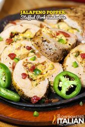 Photo of Jalapeno Popper Stuffed Pork Tenderloin-Jalapeno Popper Stuf…