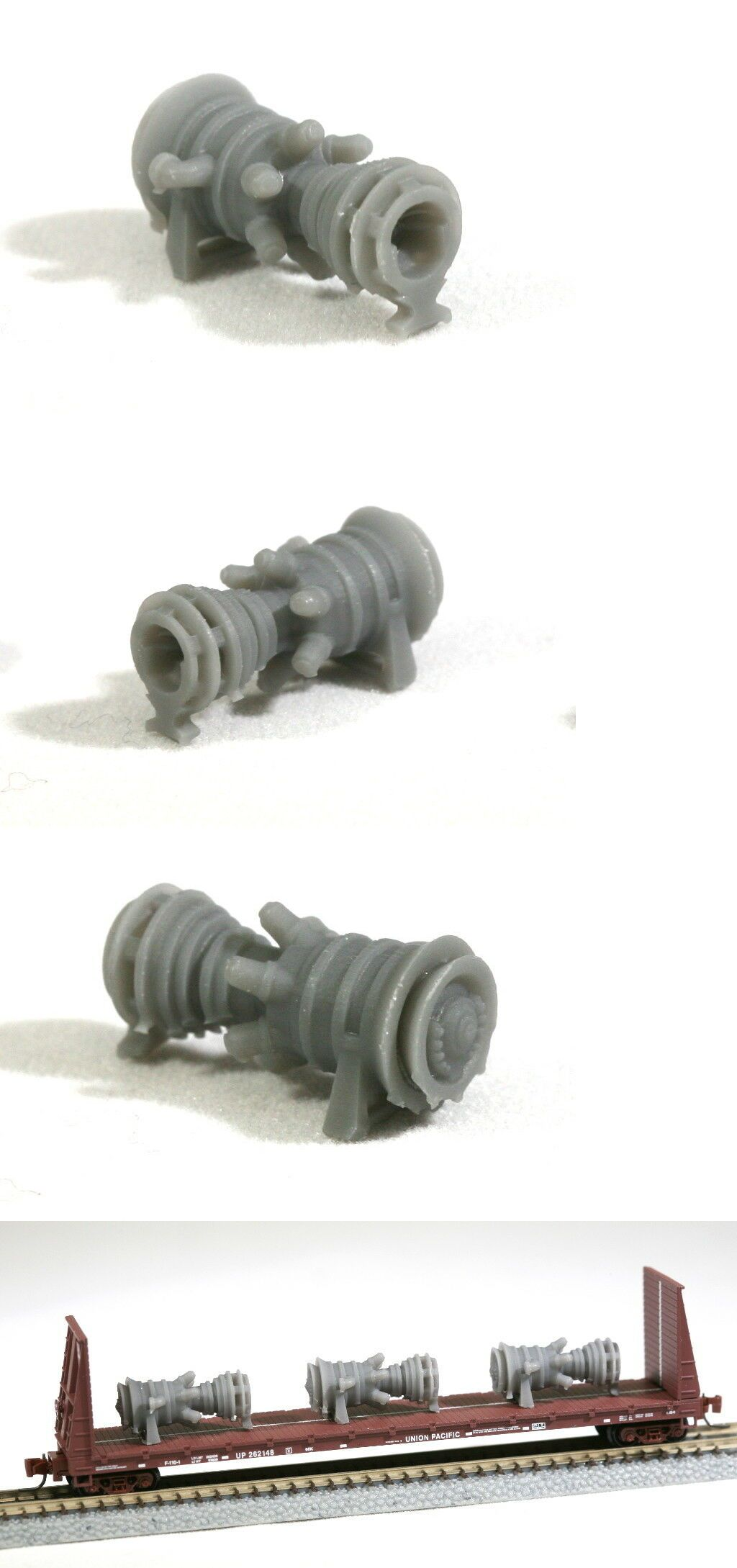 Other Z Scale Parts and Accs 30671: 15Mw Industrial Gas Turbine Z
