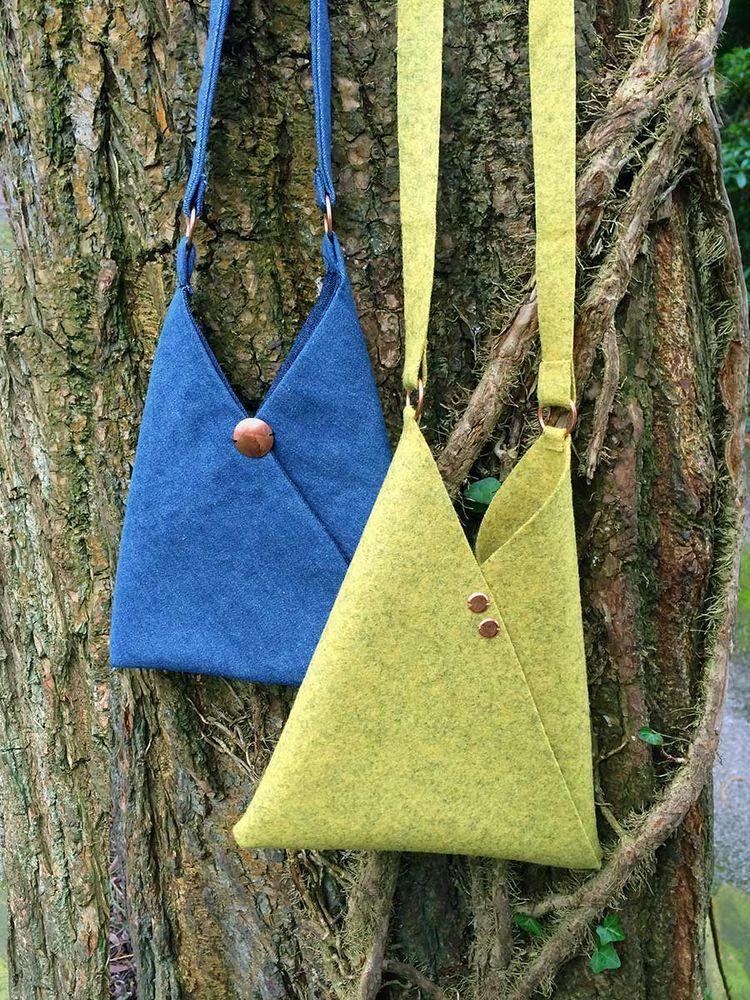 Origami Bag – Free sewing pattern (BERNINA EN)   Sewing - Bags ...