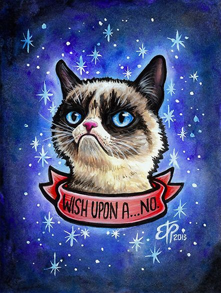 Grumpy Cat By Erika Pearce Via Behance