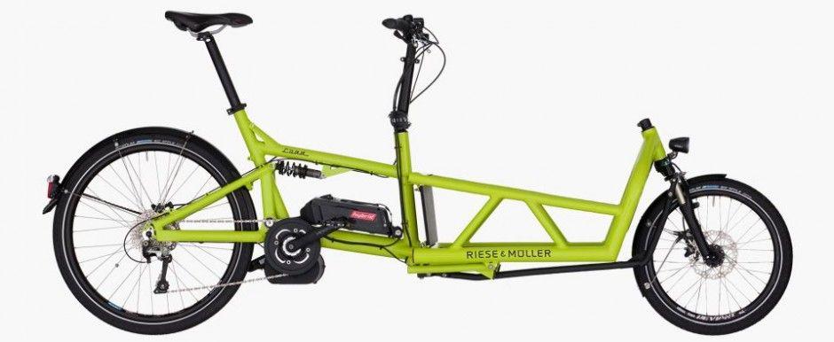 riese m ller load limegreen 20inch cargobike. Black Bedroom Furniture Sets. Home Design Ideas