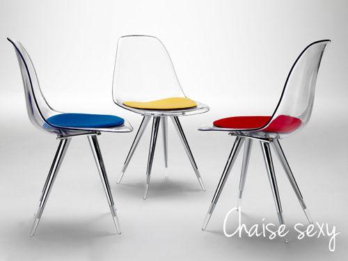 Chaise Design Diana SoDezign Plexiglas Pinterest - Chaise design