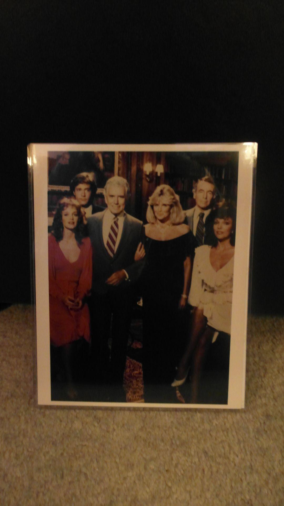Dynasty season 2 cast photo (1982)