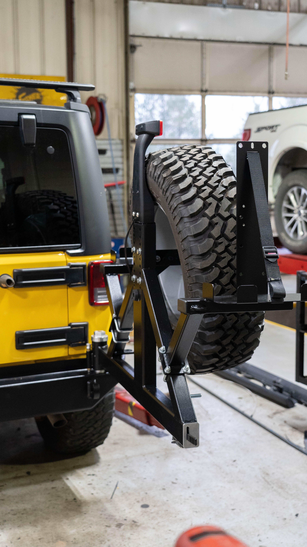 Rock Hard 4x4 Aluminum Patriot Series Rear Bumper W O Tire Carrier For Jeep Wrangler Jk 2007 2018 Plate Design Bumpers Design