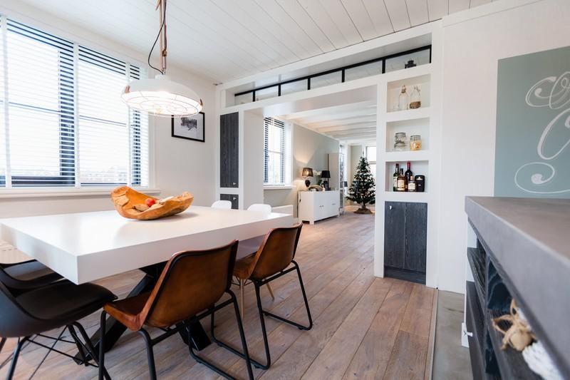 Welp Tussenwand tussen keuken en woonkamer in dezelfde stijl | Living GS-98