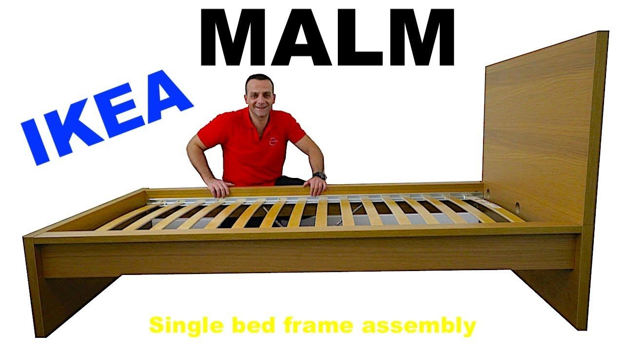 Ikea Malm Bed Assembly Instructions Bed Frame Assembly Ikea