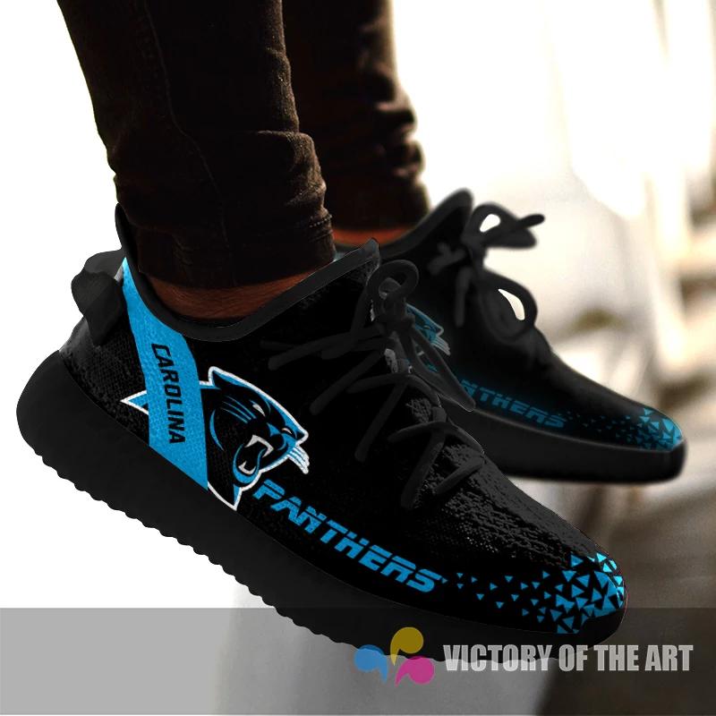Simple Logo Carolina Panthers Sneakers