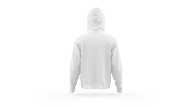 Download Download White Hoodie Mockup Template Isolated Back View For Free In 2020 Hoodie Mockup White Hoodie Hoodie Template