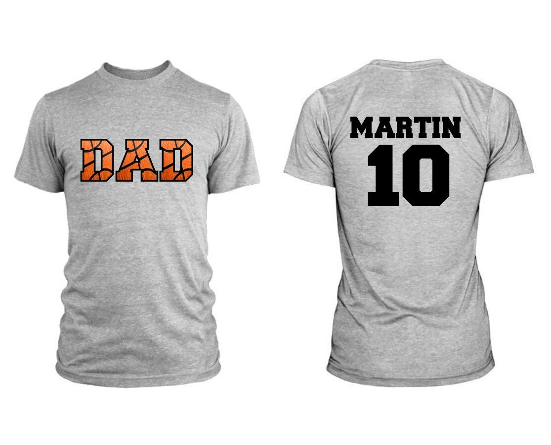 Design t shirt back - Basketball Dad Men Shirt Front And Back Design By Misskaystitches On Etsy Https