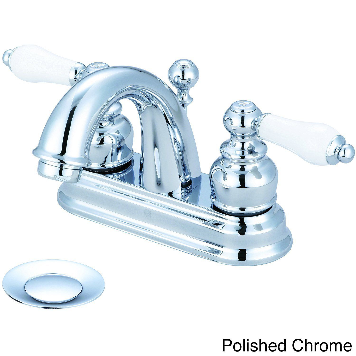 Pioneer Brentwood Series 3Br210 Doublehandle Porcelain Handles Cool Porcelain Handle Bathroom Faucet Inspiration
