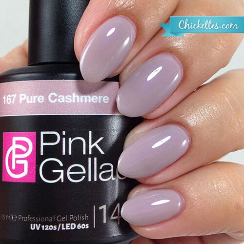 167 Pink Gellac Pure Cashmere