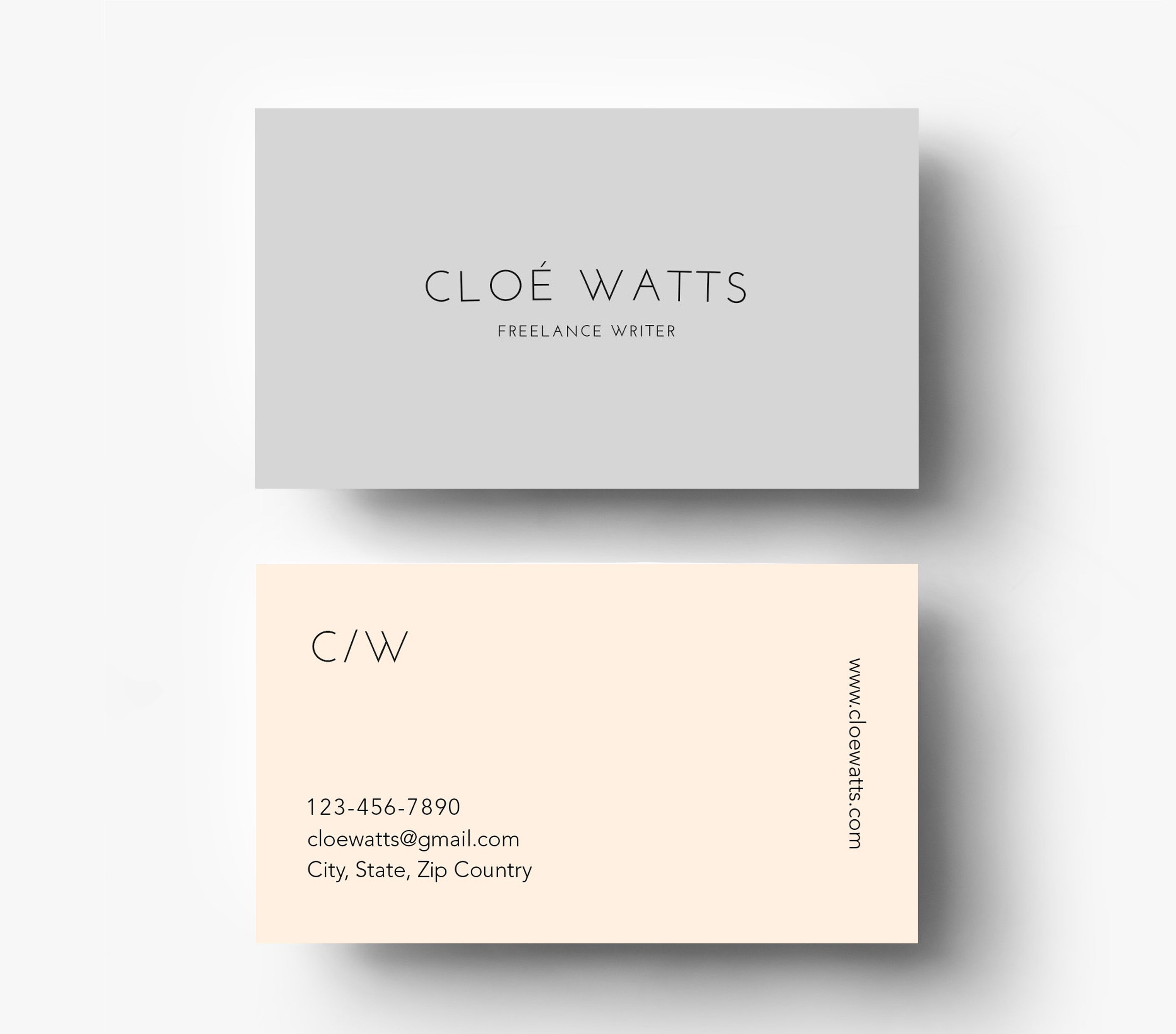 business cards inspiration page of cardfaves buy simple