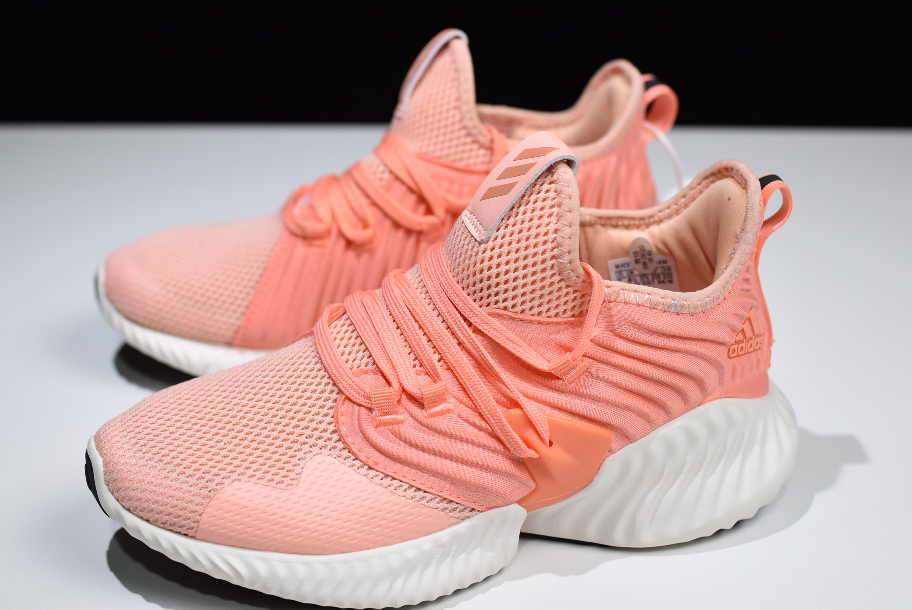 126995cbfd433 Women s adidas Alphabounce Instinct CC W Coral Pink White D97284 ...