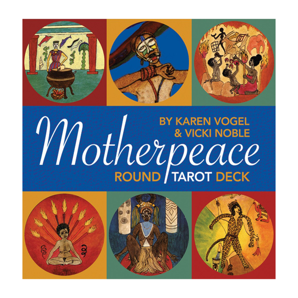 This was my first Tarot deck! I learned Tarot on my own through using this deck, but I later added other decks that I fell in love with for their own unique design & vibe. Some people say a Tarot deck should be a gift from someone else. I'm not much of a rule follower and I reject that notion. Give yourself the gift of whatever you want. ;) I recommend buying the Motherpeace Guidebook which is not sold with the deck. Also available here! The creators of Motherpeace Tarot have departed from