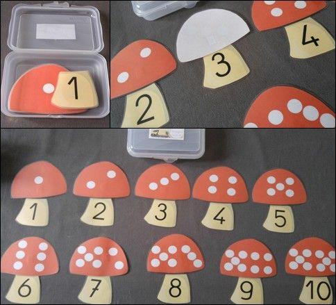 Mes centres de mathématiques pour la période 1 en CP