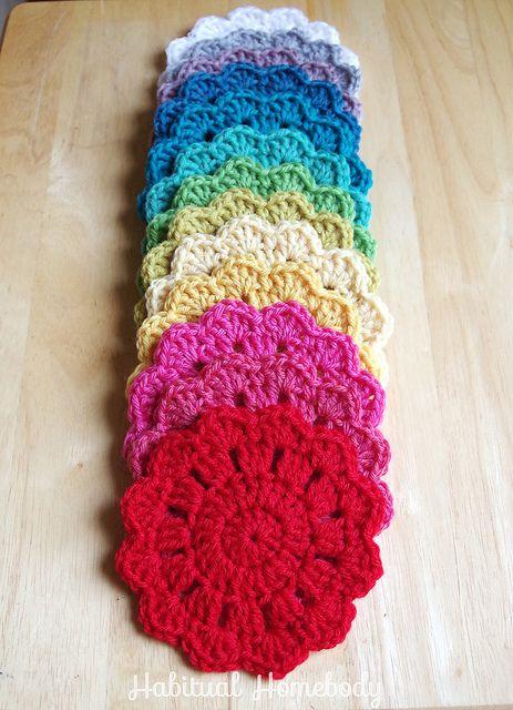 Whats On My Hook Coasters Crochet Coasters And Mandalas