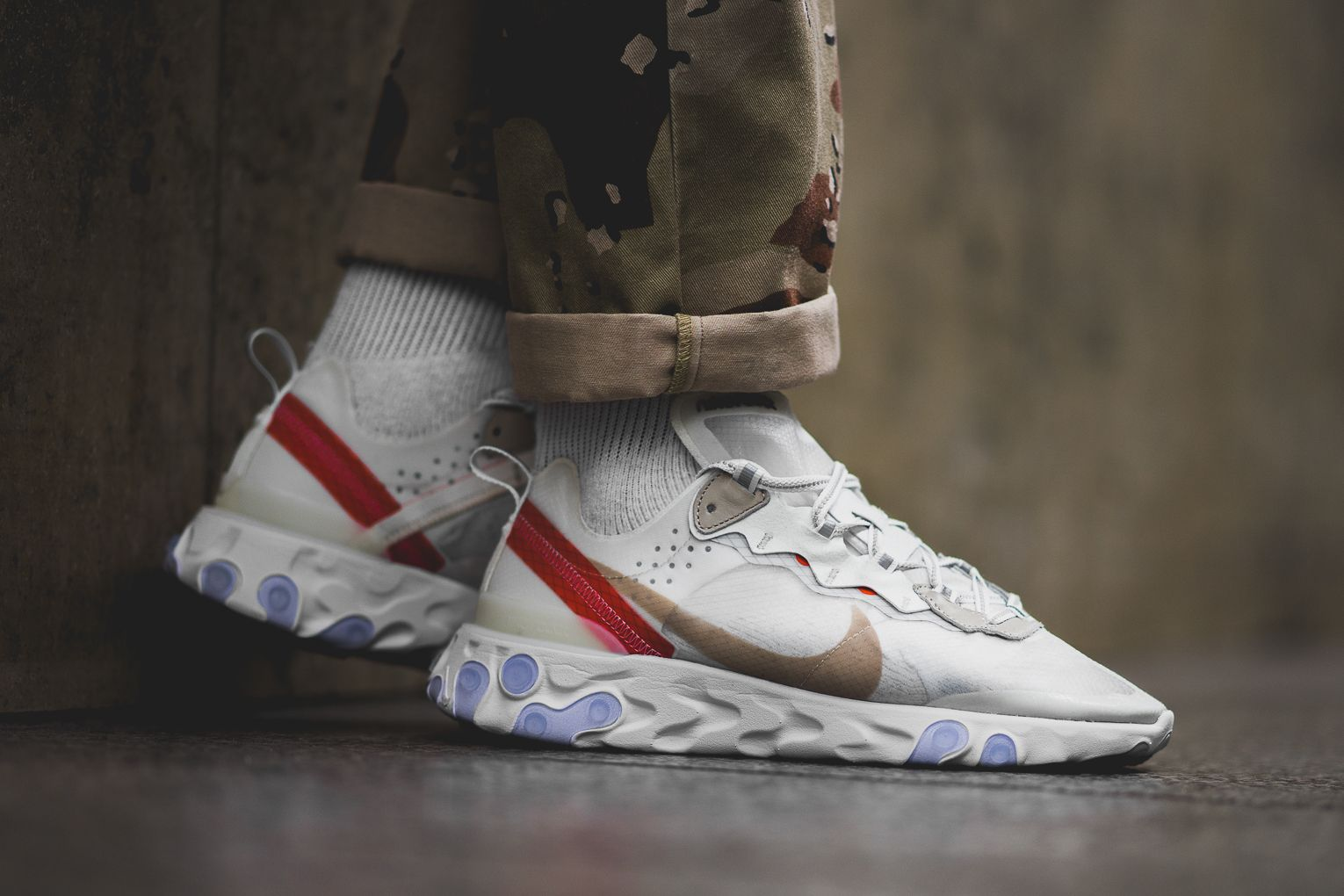 Nike React Element 87 Sail - AQ1090-100 | Nike boys & renzie | Best ...
