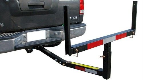 Pick Up Truck Bed Hitch Extender Extension Rack Ladder Canoe Boat