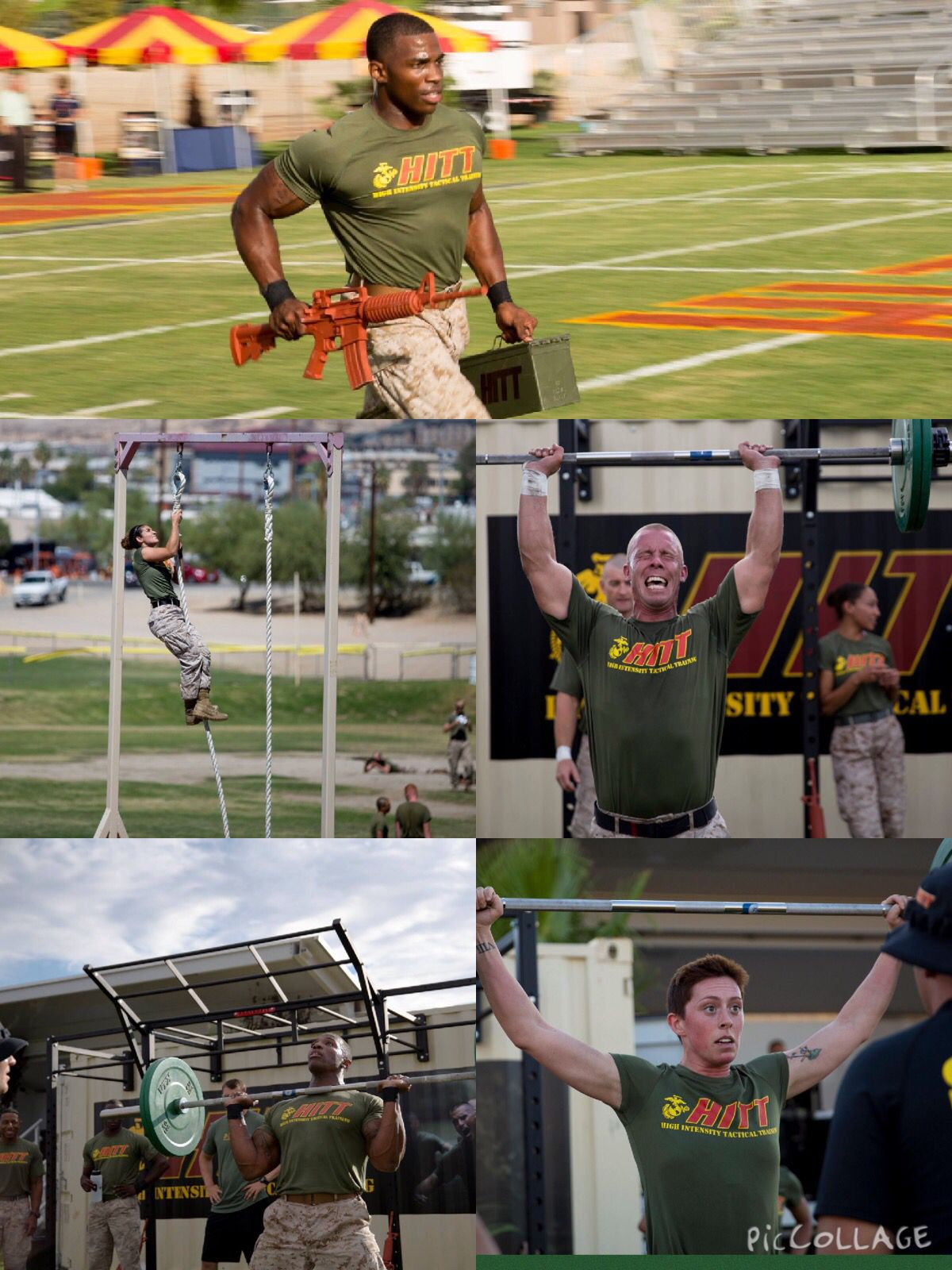 Marine Corps tests grit in HITT championship (With images