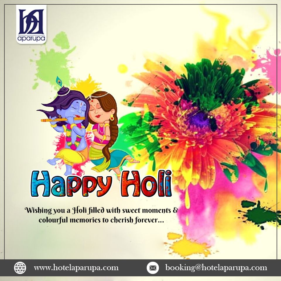 Hotel Aparupa Ambience, wishing you a very Happy Holi.  #holi #happyholi #india #festival #holifestival #love #colors #colours #color #holipowder #like #festivalofcolors #holifestivalofcolours #holihai #festivalofcolours #holifest #indianfestival #HappyHoli2020