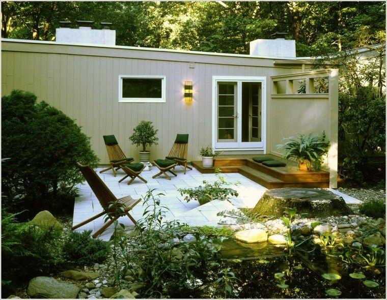 Fuentes de jard n 100 modelos de espect culos acu ticos jard n dise o de jardines modernos - Modelos de fuentes para jardin ...
