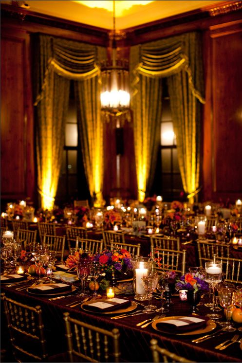 Exquisite Wedding Reception Beautiful Table Settings Wedding