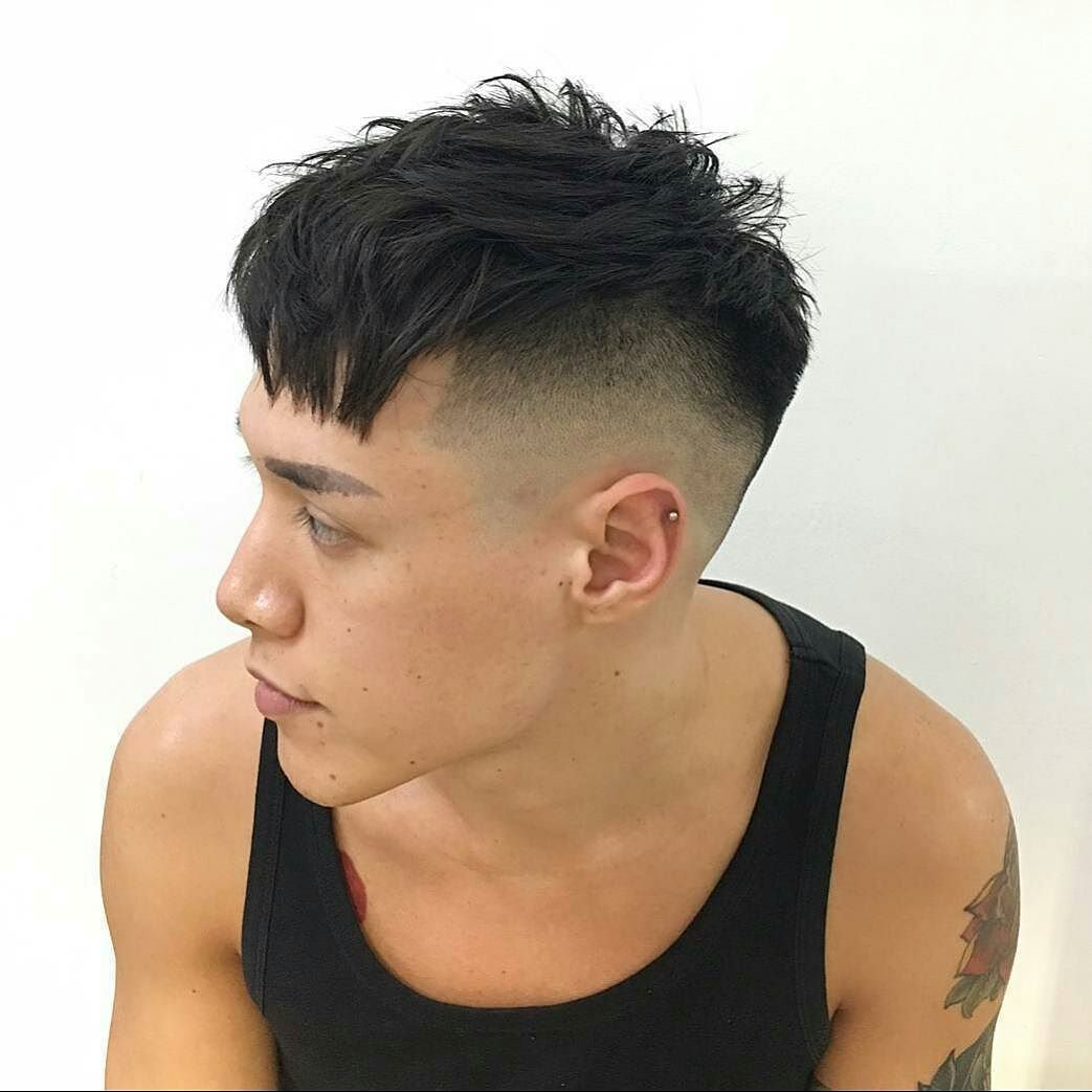 awesome 45 powerful comb over fade hairstyles - comb on over