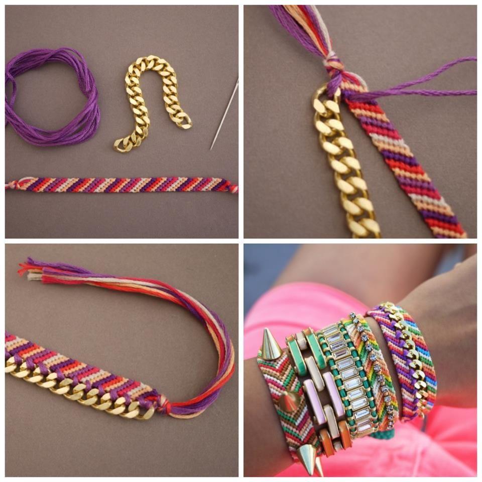Do it yourself bracelets diy pinterest bracelets jewelry do it yourself bracelets solutioingenieria Images