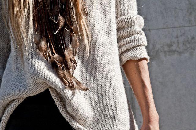 Look: jersey, pantalones cuero y zapatos Zara - Anya - Trendtation