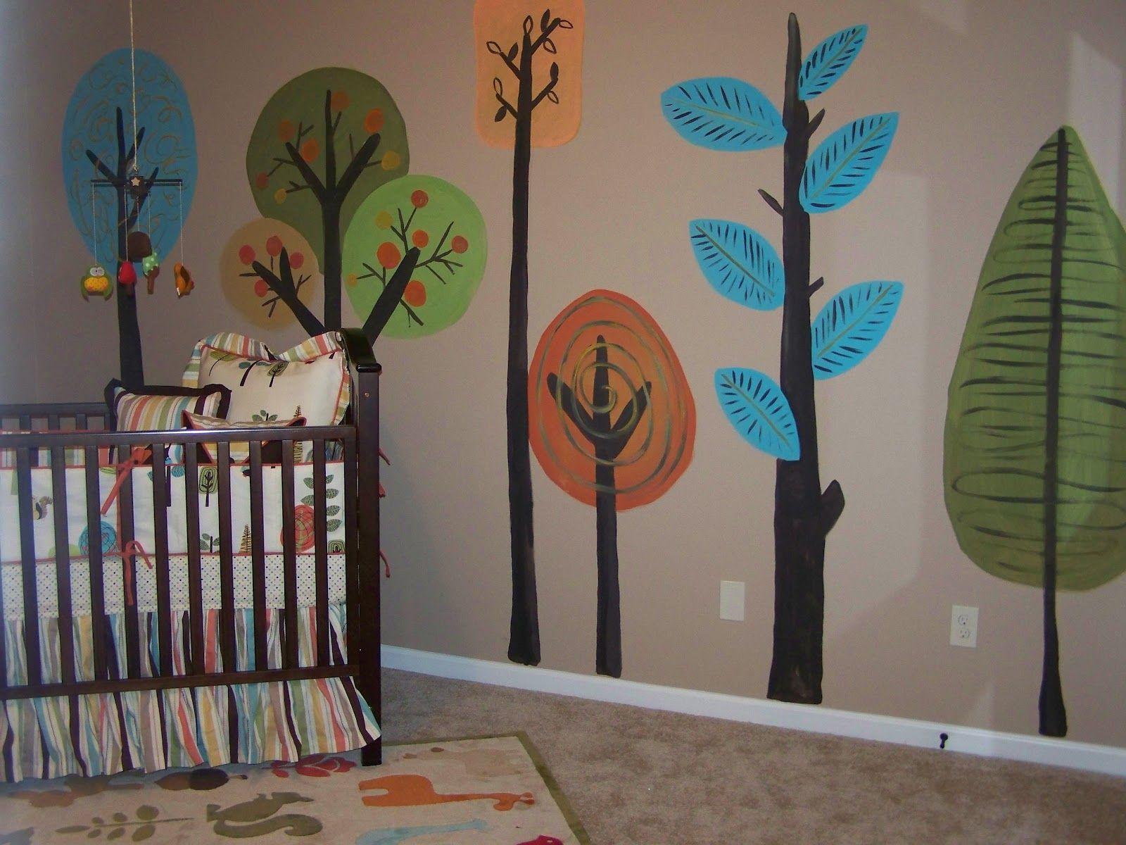 Gender Neutral Woodsy Nursery Woodsy Nursery Gender Neutral And - Nursery wall decals gender neutral