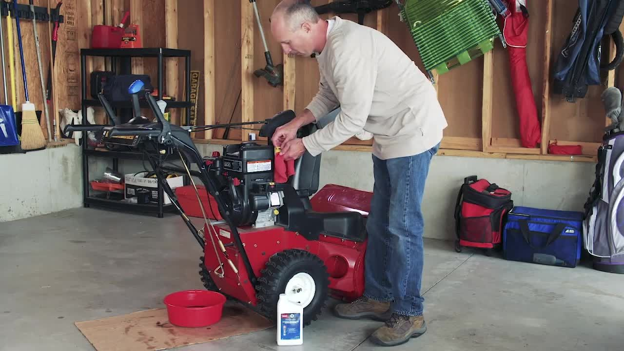 How To Change Engine Oil On A Two Stage Snowblower Any Owner Of A