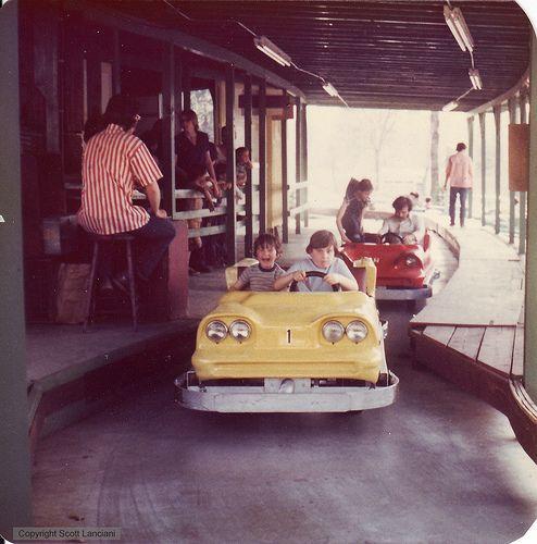 Abandoned Amusement Parks, Childhood