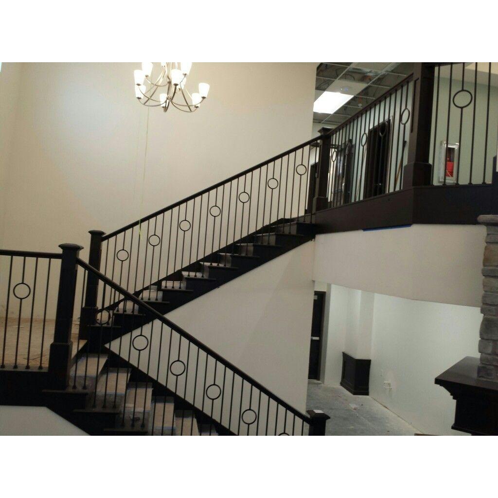 Best South Jordan Utah Alder Stair Railing With Custom Iron 400 x 300