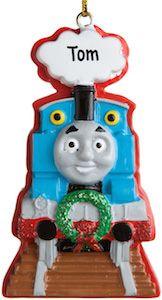 Thomas The Train Personalized Christmas Ornament