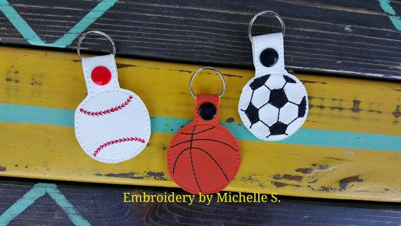 Check out this item in my Etsy shop https://www.etsy.com/listing/269302364/sports-key-fob-sports-key-chain-baseball