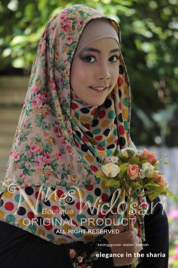 Pashmina 2f 02 Material Spandek Motif Idr 180 000 Jilbab Syar I Busana Muslim Hijab Pashmina Hijab Muslim