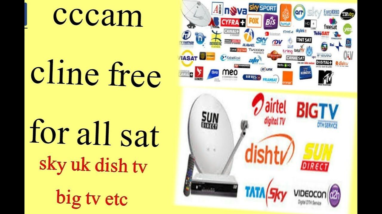 free cccam cline server for all sat dish tv sun hd sky uk for life