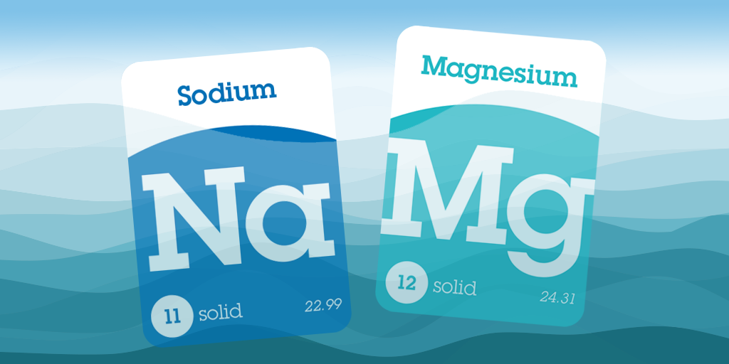 The Most Abundant Metals In Seawater Are Sodium Magnesium Sodium