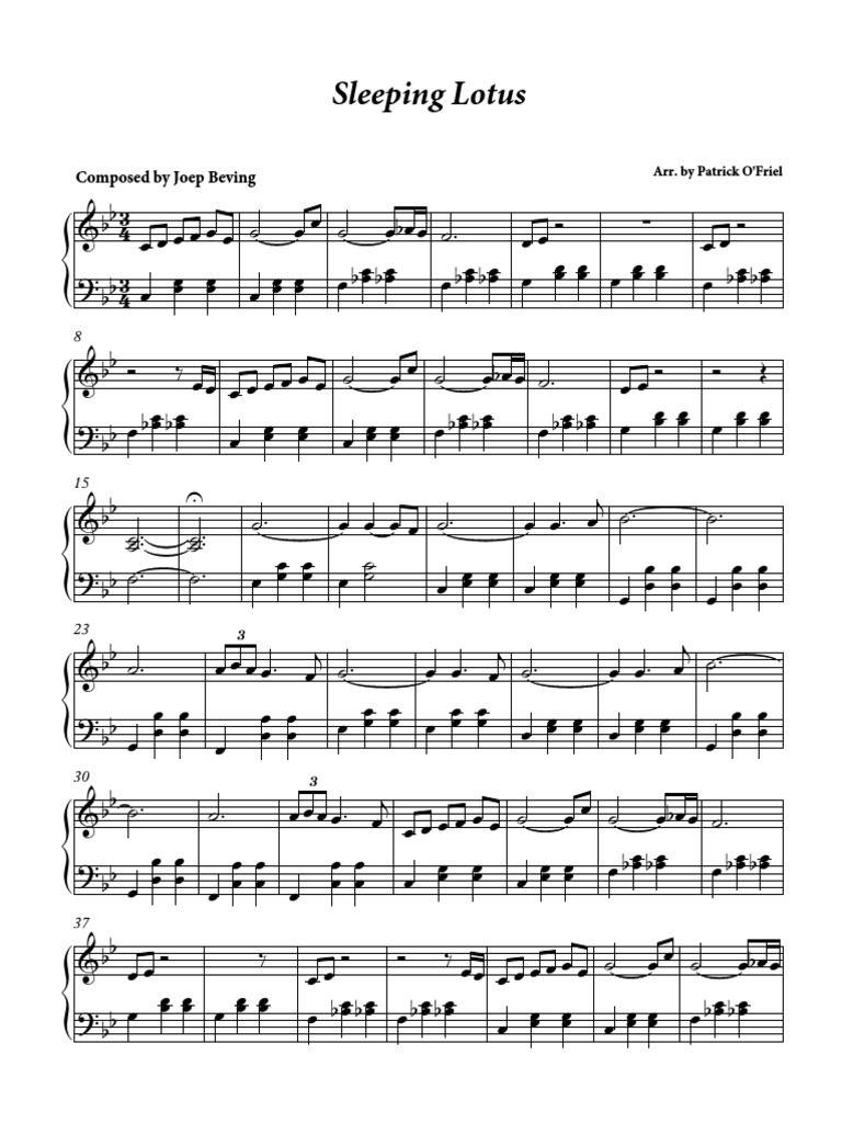 Sleeping lotus joep beving piano sheet music piano in 2018 sleeping lotus joep beving piano sheet music piano sheet music cello slide rule izmirmasajfo