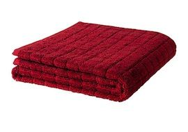 Prevent kid freakouts at sight of own blood- red washcloth