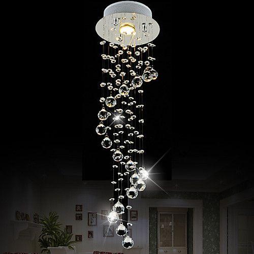 Mini Style Pendant Light Crystal