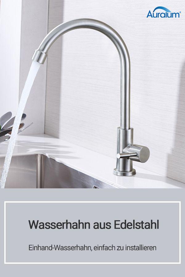 Wasserhahn Aus Edelstahl Wasserhahn Kuchenarmatur Edelstahl