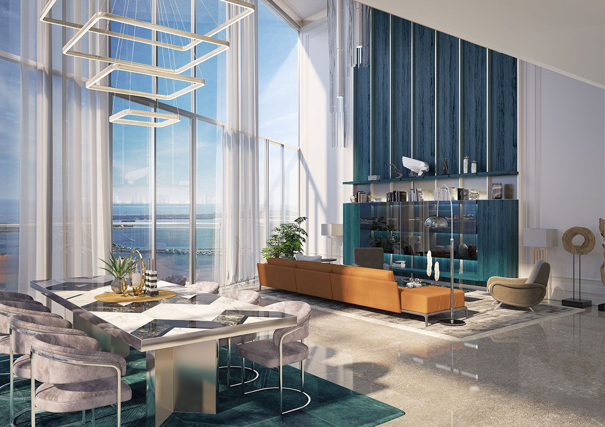 Despite The Current Uncertainty Of The Luxury Market Miami Real Estate Seems To Be Holding Strong With Another Luxury Penthouse Sale A