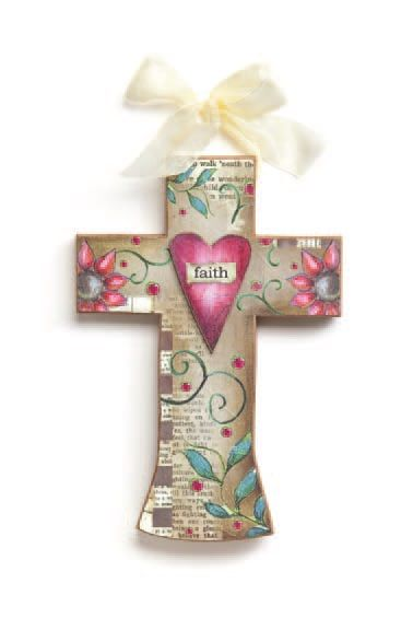 Demdaco Joyful Nest Faith Cross - $26.95